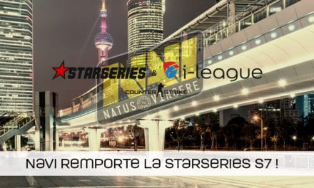 NaVi remporte la StarSeries i-League saison 7