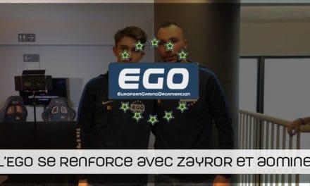 L'équipe FIFA de l'EGO se renforce avec les arrivées de ZayroR et son frère aomine