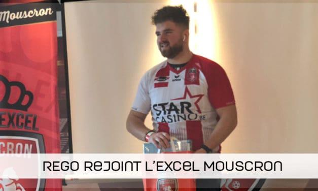 REGO rejoint l'Excel Mouscron !