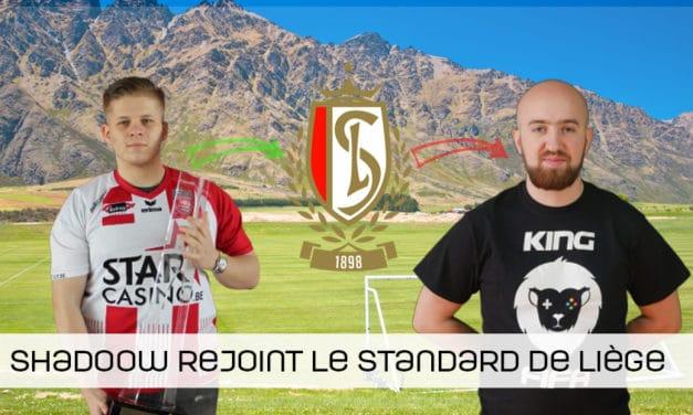 Le Standard de Liège accueille ShadooW !