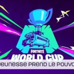La jeunesse au top à la Coupe du monde Fortnite !