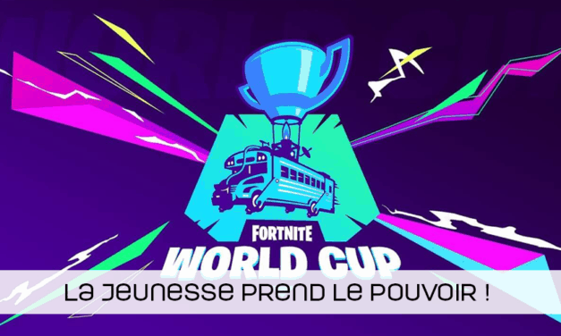 La jeunesse au top à la Coupe du monde Fortnite !