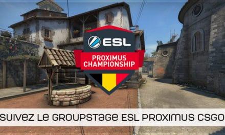 ESL Proximus CSGO : Sector One reste en tête malgré la défaite !