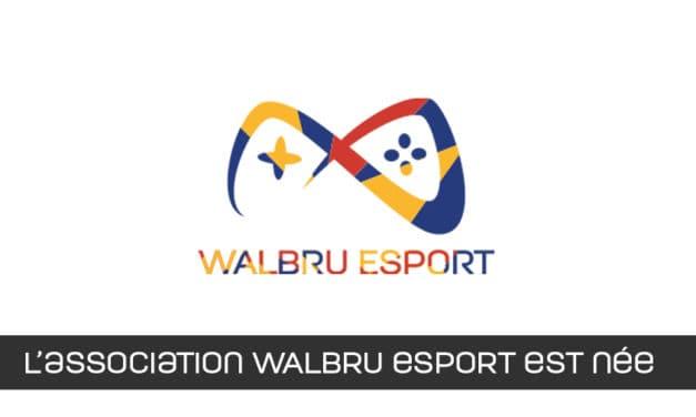 Création de l'association wallonie bruxelles d'esport – walbru esport