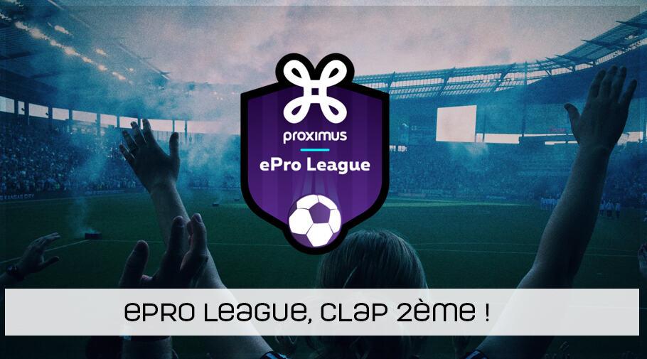 La 2ème édition de l'ePro League est lancée !