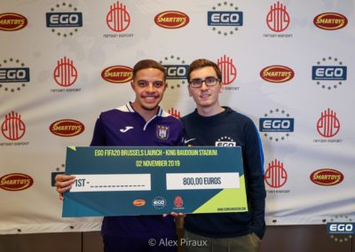 EGO - FIFA20 Launch Brussels- 5