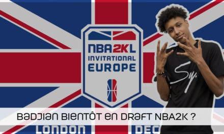 Badjian, l'espoir belge pour la draft NB2K