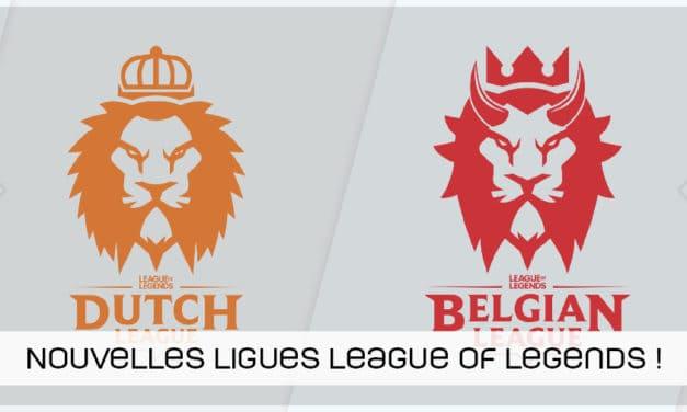 Nouvelle compétition en Belgique et aux Pays-Bas sur League of Legends