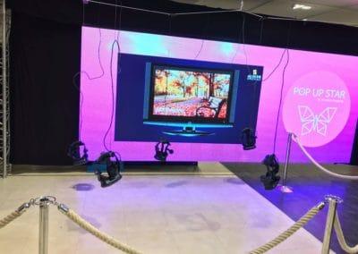 Pop up star Westland Anderlecht - Gaming VR experience