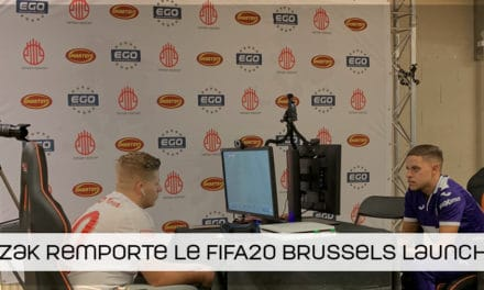 Zak remporte l'EGO FIFA20 Brussels Launch