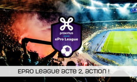 ePro League : le topper à 18h !