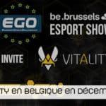 Team Vitality à Bruxelles en décembre !