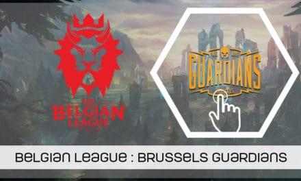 Belgian League, présentation de Brussels Guardians