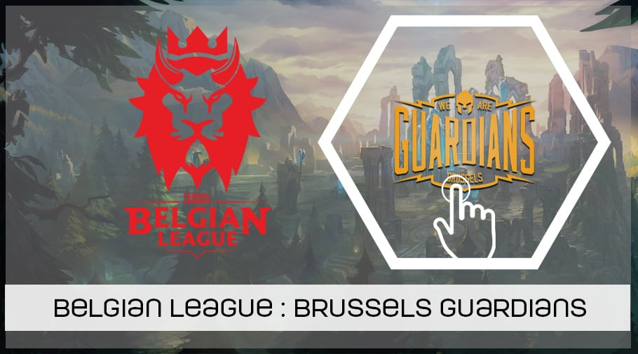 Belgian League, présentation de Brussels Guardians