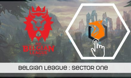 Belgian League : le renouveau de Sector One