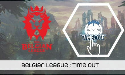 Belgian League : presentation de Timeout esports