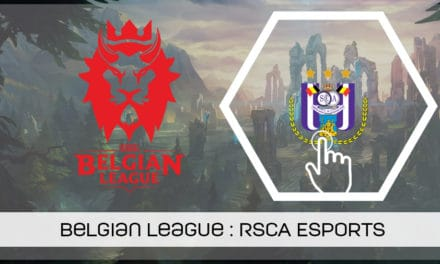 Belgian League : l'équipe League of Legends du RSCA