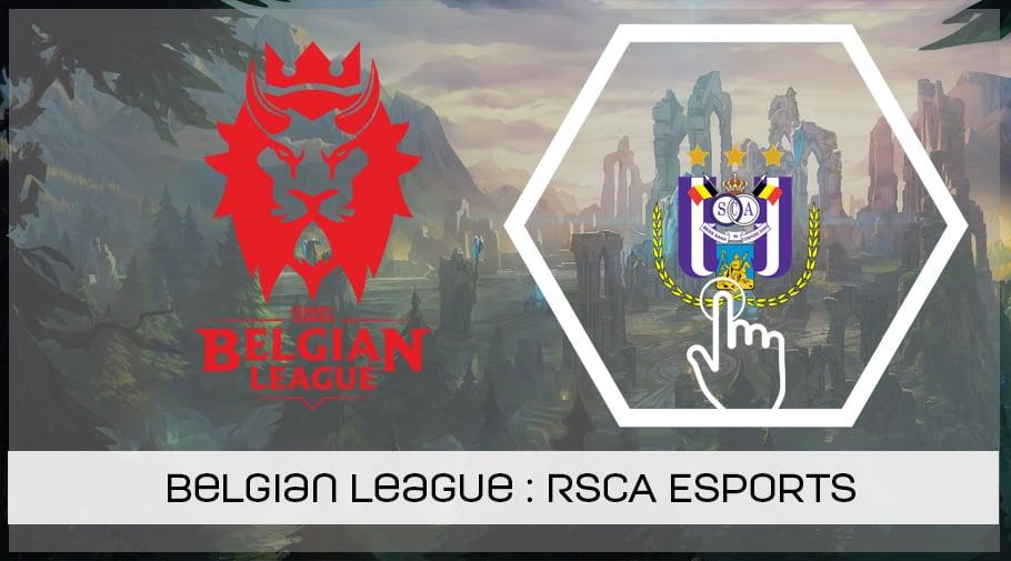 Belgian League : l'équipe League of Legends du RSCA