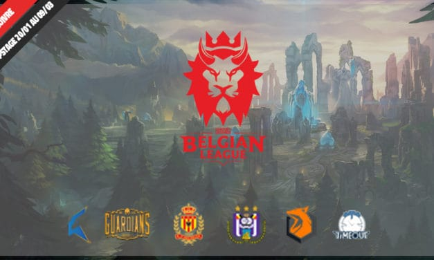 Belgian League : 5ème journée remportée !!