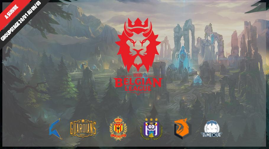 Belgian League : Sector One l'emporte sans aucune défaite !