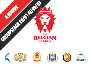 Widget Belgian League League of Legends groupstage promote