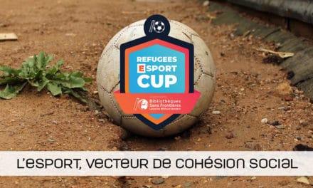 Refugees esport cup : le 1er tournoi organisé dans un camp de réfugiés