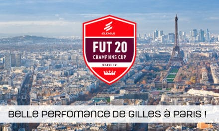 Belle performance de Gilles à la FUT Cup 4 de Paris