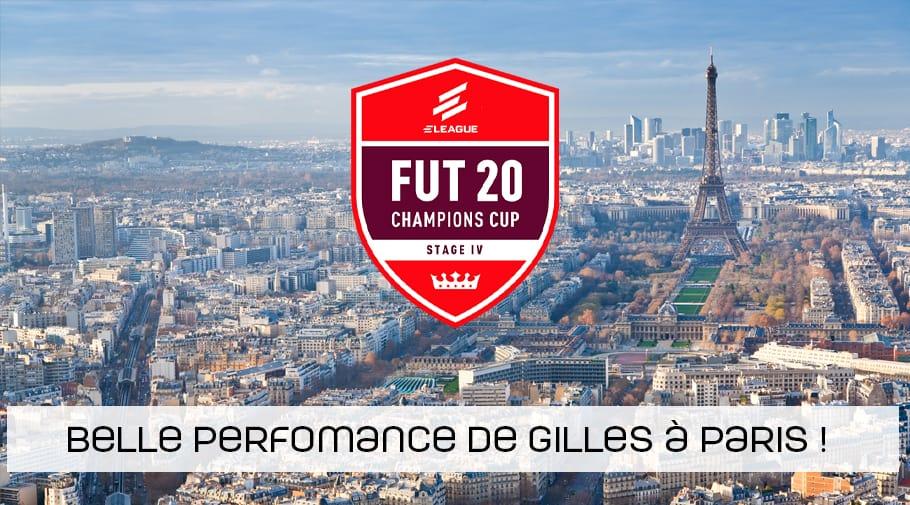 Belle performance de Gilles à la FUT Cup 4 de Paris