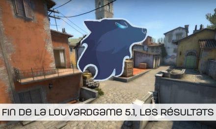 Les résultats de la LouvardGame 5.1