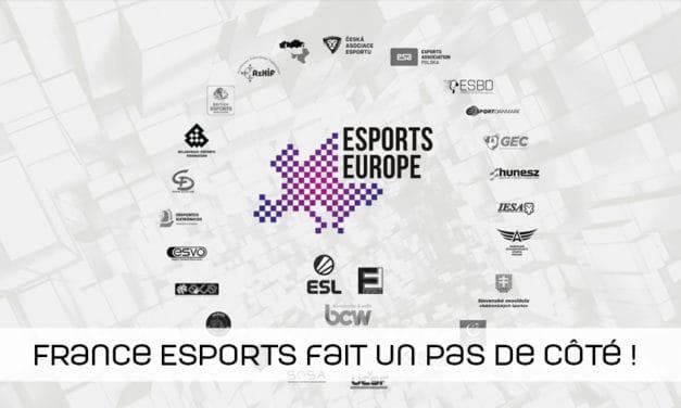 France Esports se distancie de la Fédération Esports Européenne