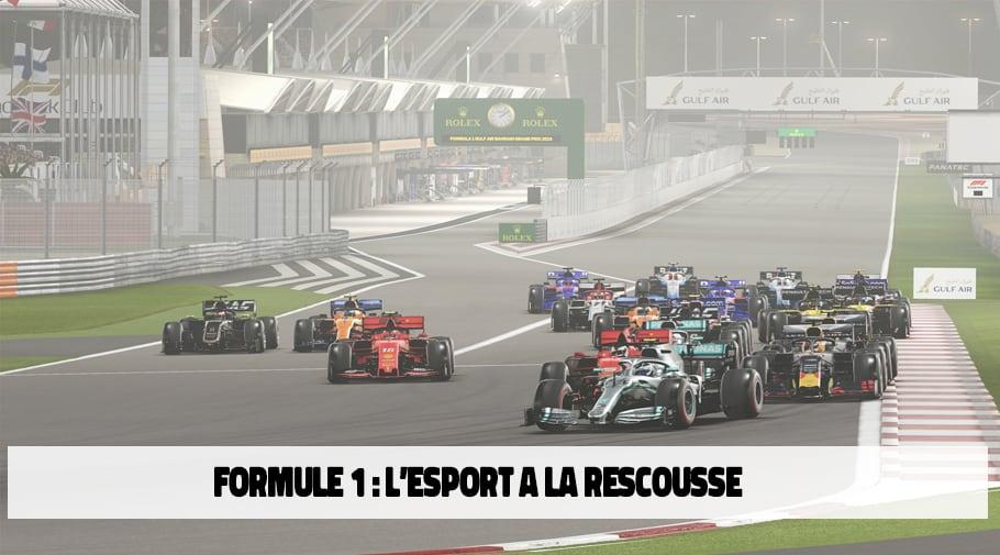 Les Grands Prix de Formule 1 se dérouleront virtuellement