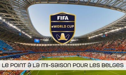 FIFA eWorld Cup 2020:Où en sont les joueurs belges?