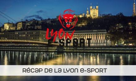 Retrouvez le parcours des belges lors de la Lyon e-sport