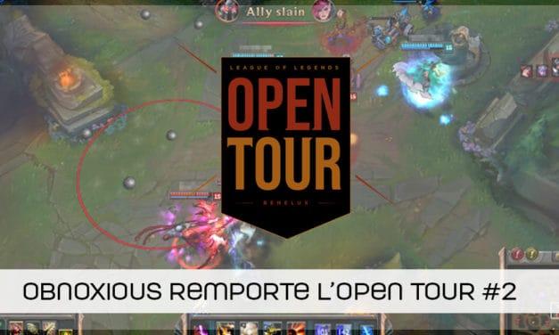 Open Tour Benelux : Obnoxious remporte la 2ème étape !
