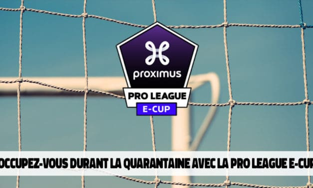 Proximus Pro League e-Cup