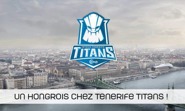 Un joueur hongrois complète l'équipe CSGO des Belges de Tenerifes Titans