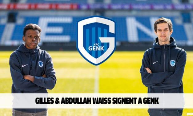 Gilles Bernard et Abdullah Waiss débarquent chez KRC Genk