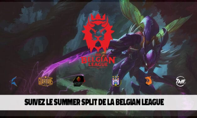 Le summer split de la Belgian League débute lundi !