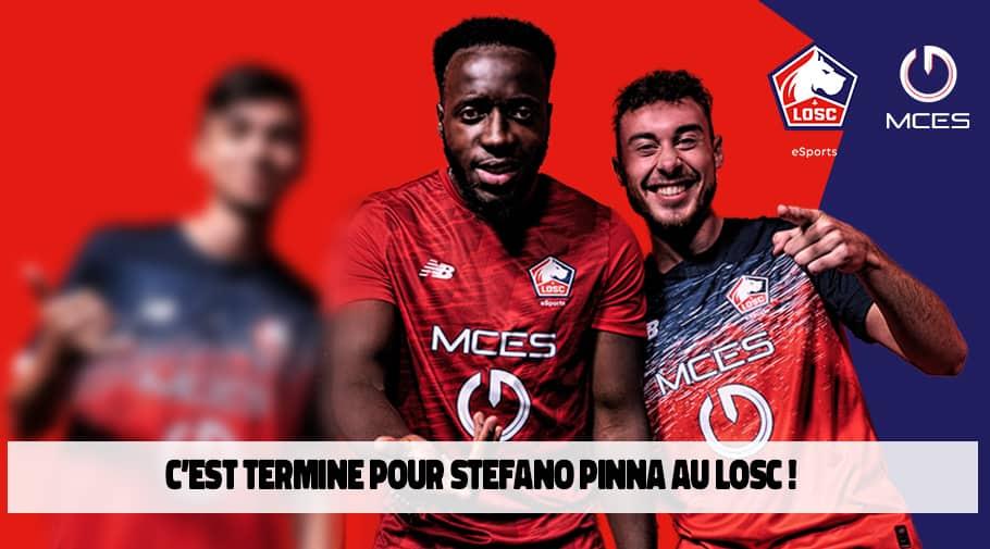 Stefano Pinna quitte le LOSC