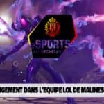 Changement dans l'équipe League of Legends du KV Mechelen