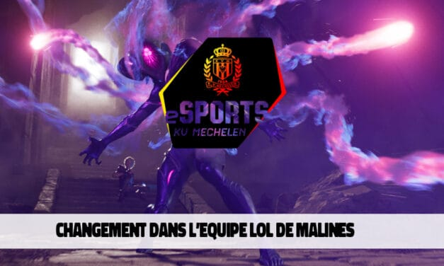 Changement dans l'équipe League of Legends du KV Mechelen