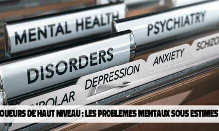 Problèmes de santé mentale chez plusieurs joueurs professionnels