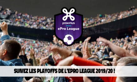 ePro League playoffs : Le Standard & Mouscron s'imposent !