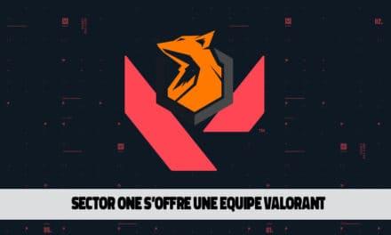 Sector One s'offre déjà une équipe Valorant
