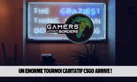 Tournoi caritatif de Gamers Without Borders