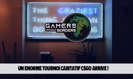 Tournoi caritatif de Gamers Without Borders