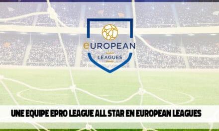 European League : la Belgique dernière au classement !