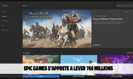 Levée de fonds de 750 millions de dollars pour Epic Games