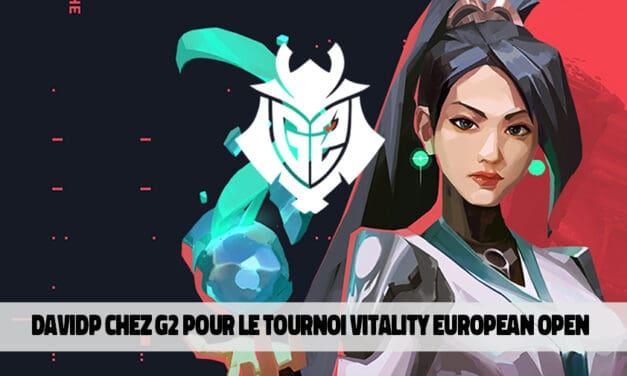 Le Belge davidp participera à la Vitality European Open avec G2