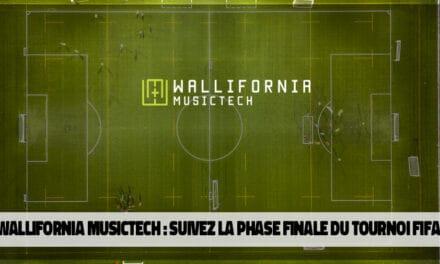 Les finales de la Wallifornia Esport Competition sur FIFA20